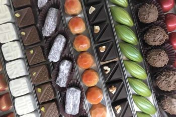チョコレートの量