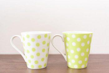 手作りマグカップ