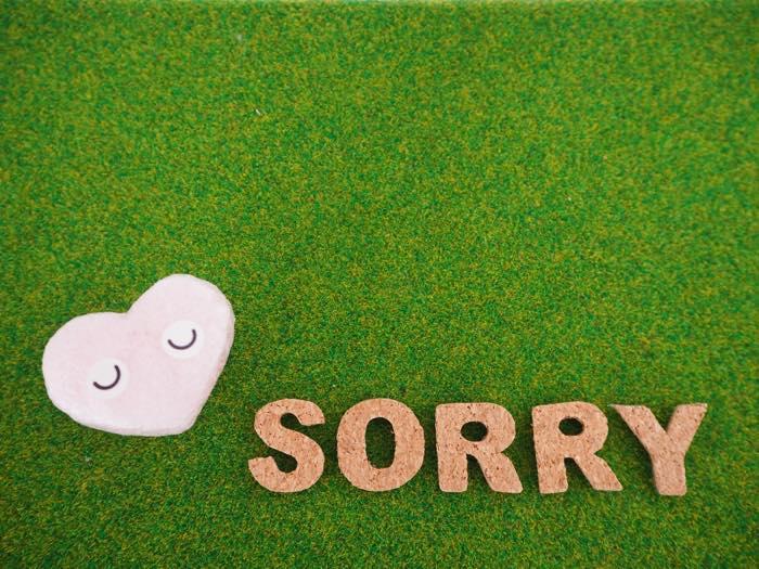「ごめんなさい」が言えない人の心理と対処法!逆ギレには理由が?