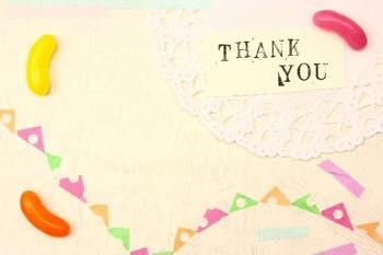 ありがとうを忘れない