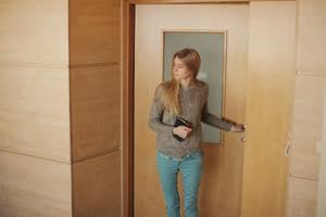 ドアを開けてあげる