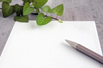 紙に書いてイライラ緩和