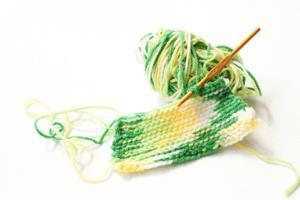 手編みのもの