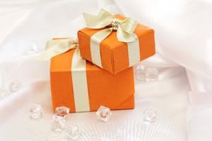 プレゼントをする